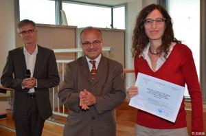 De gauche à droite : Bernard Heyberger, Christophe Belliard et Seri Hersch. — Copyright EHESS