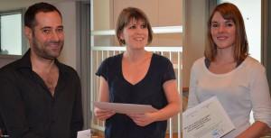 De gauche à droite : Yann Tastevin, Morgan Corriou, Marie Vannetzel. — Copyright EHESS Hersch. — Copyright EHESS