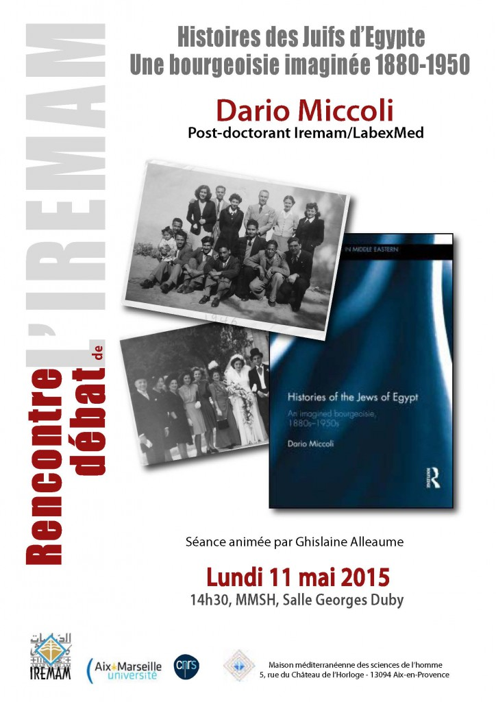 Rencontre Debat Dario Miccoli 11 mai 2015 opt