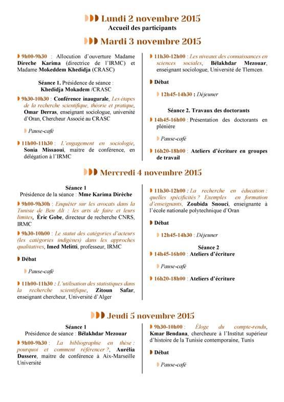 Programme Hammamet 2-6 IRMC -CRASC02