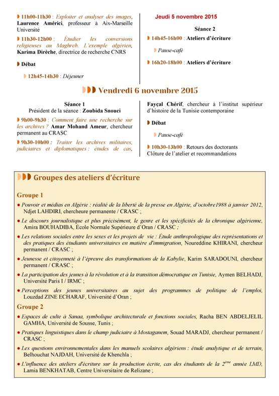 Programme Hammamet 2-6 IRMC -CRASC03