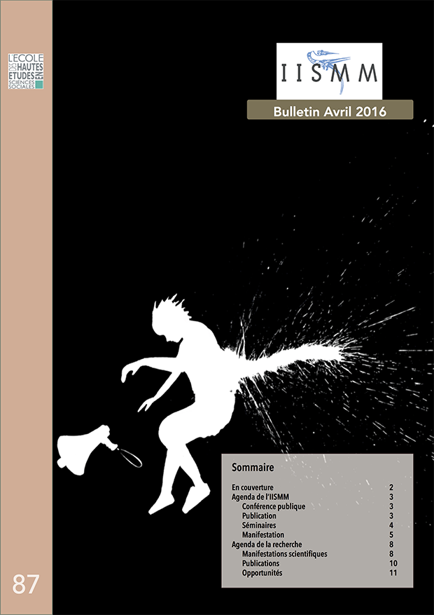 Bulletin n°87 - Avril 2016 couverture
