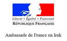 ambassade de france en irak logo