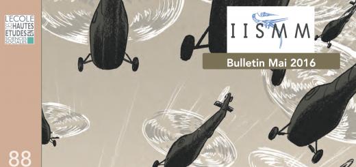 Bulletin 88 - Mai 2016 (couverture hypothèse)