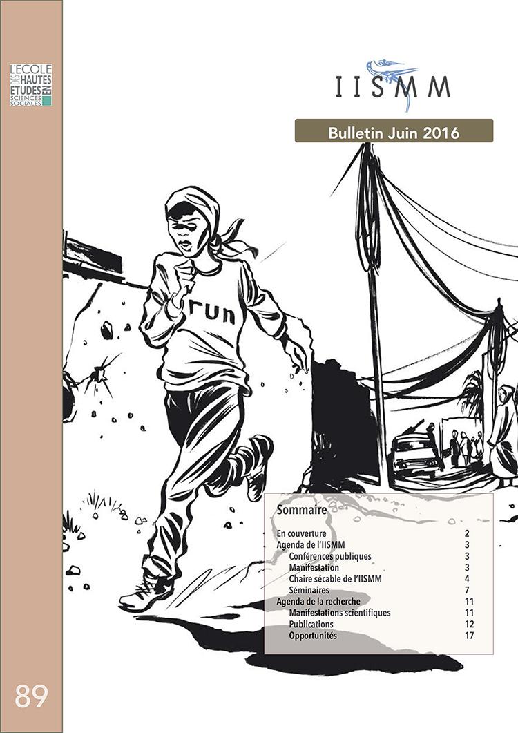 Couverture du Bulletin de l'IISMM n°89 - Juin 2016