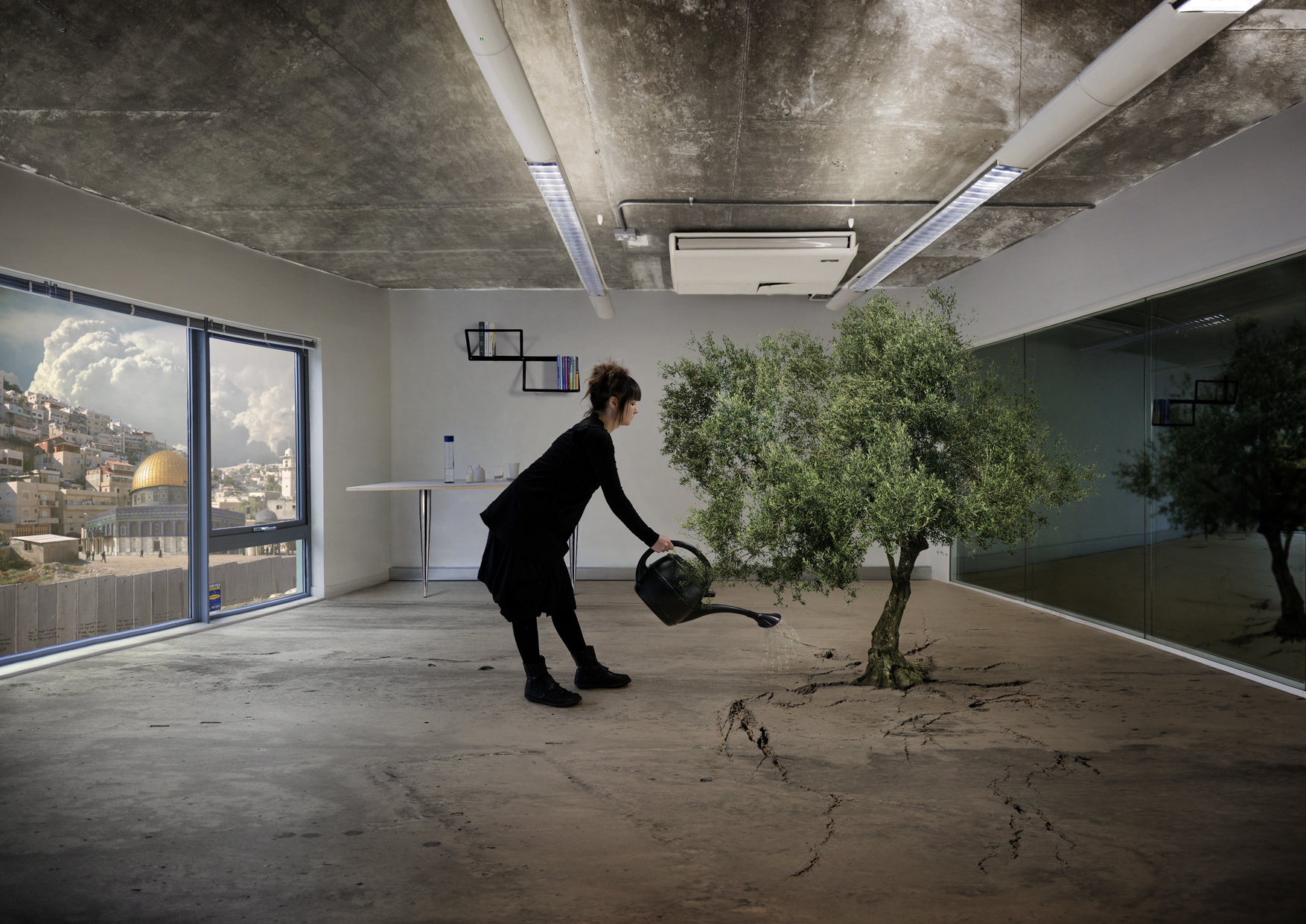 Nation Estate Olive Tree n°1 – Larissa Sansour